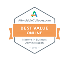 Best Value Online Master's in Business Administration, 2020