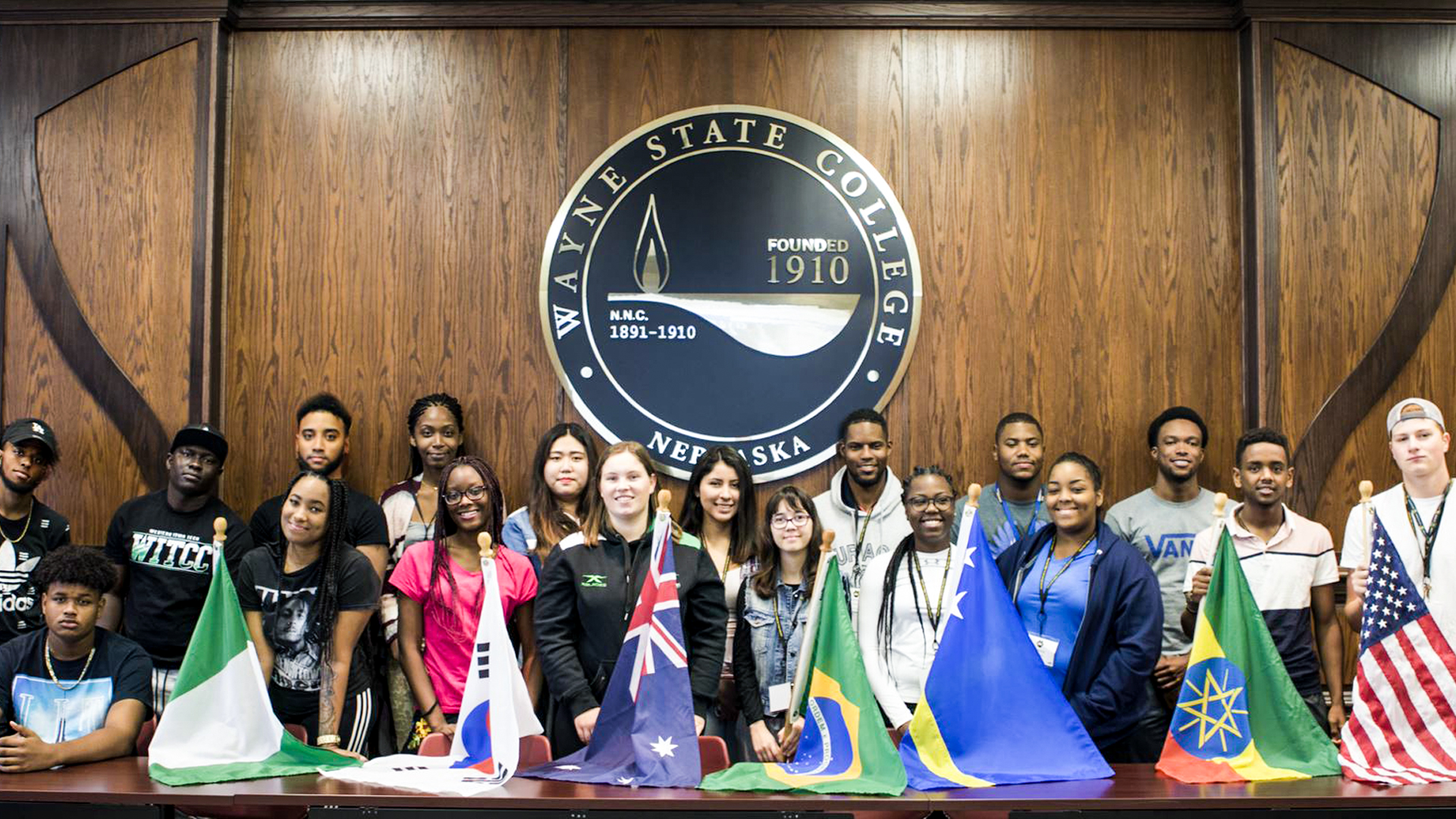 International students at WSC