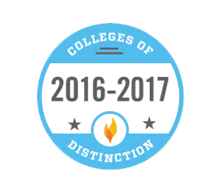 College of Distinction, 2016-17