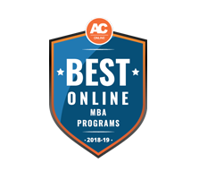 Best Online MBA Program, 2018-2019