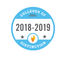 College of Distinction, 2018-19