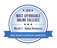 Most Affordable Online Masters Human Resources Management 2019 - SR Education Group. Online masters in human resources award.