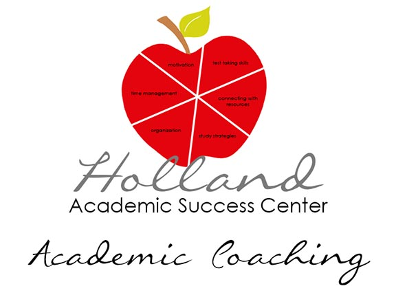 Holland Academic Success Center Academic Coaching Logo