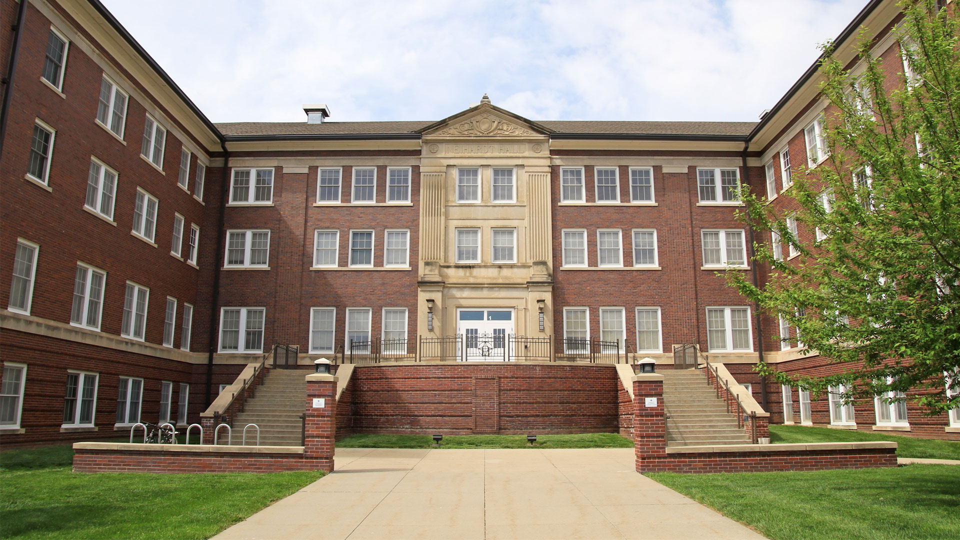 Neihardt Hall - Front Entrance
