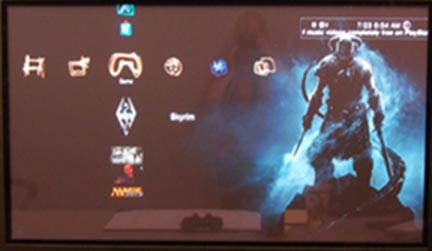 Playstation 3 Home Screen