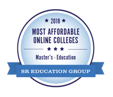 Most Affordable Online College for Master's in Education 2018 - SR Education Group