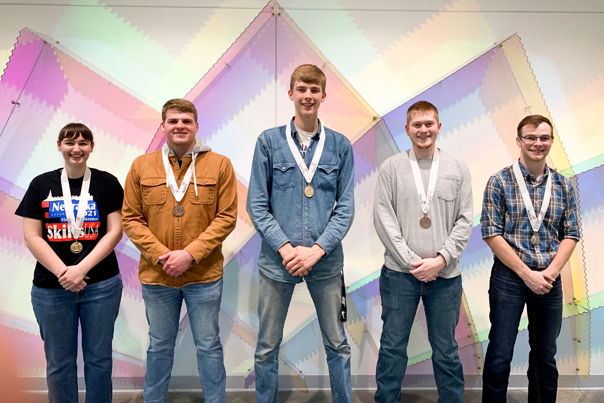 SkillsUSA 2021 Award Winners