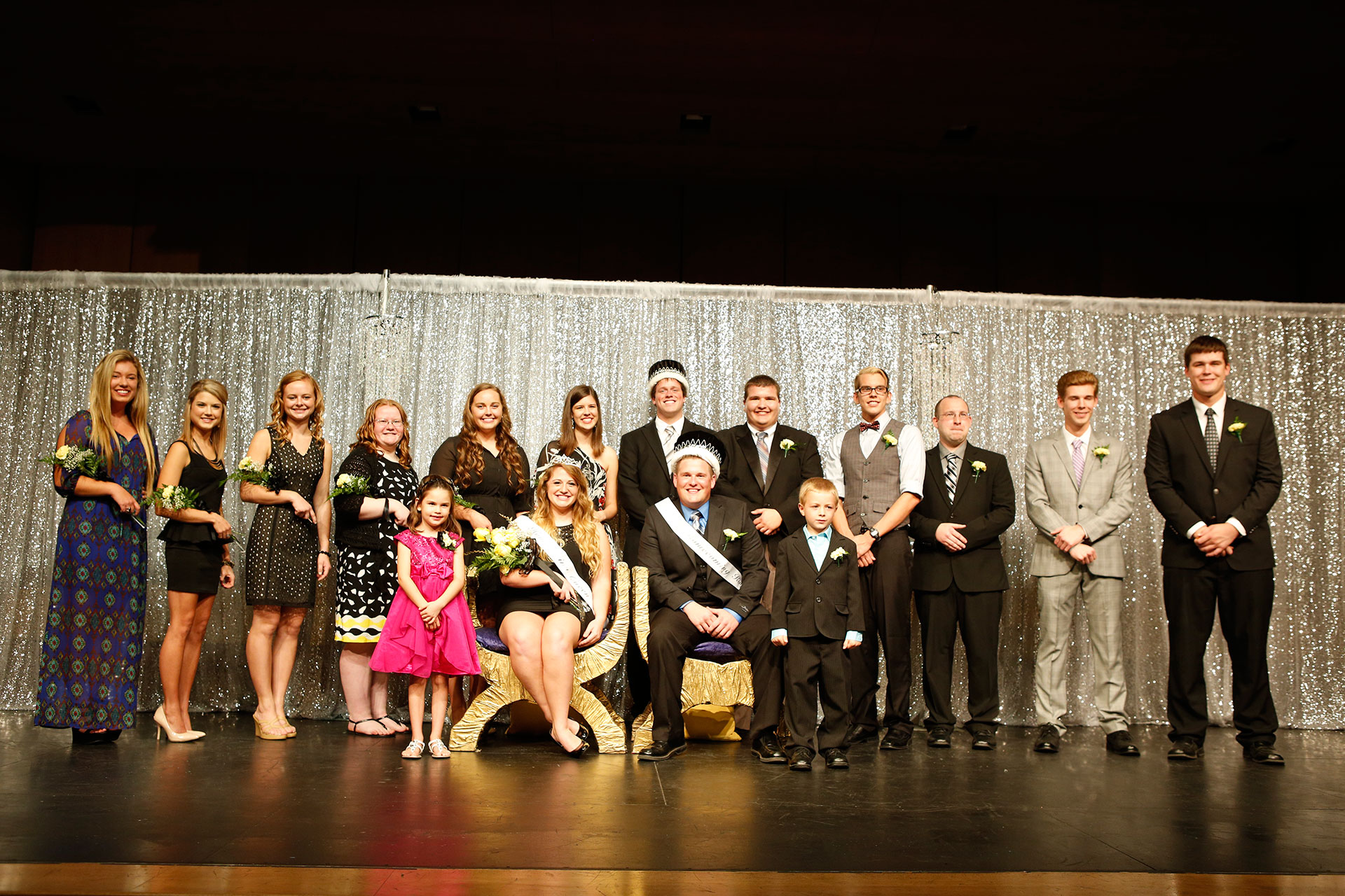 WSC Homecoming coronation 2014