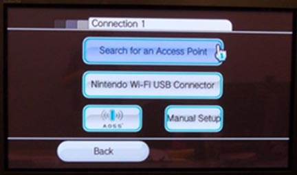 Wii connection settings no connection 4