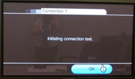 Wii connection settings wireless connection 3