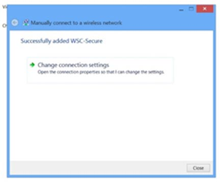 Windows8 manually connect 3