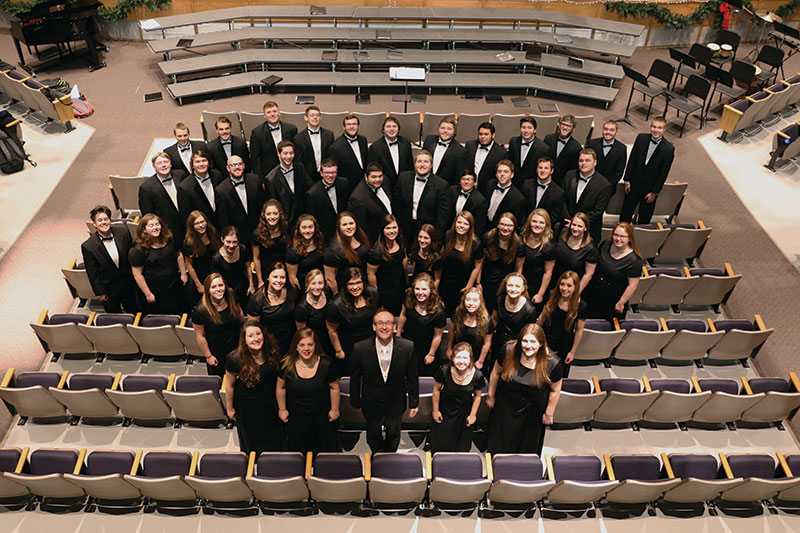 Wayne State College choir