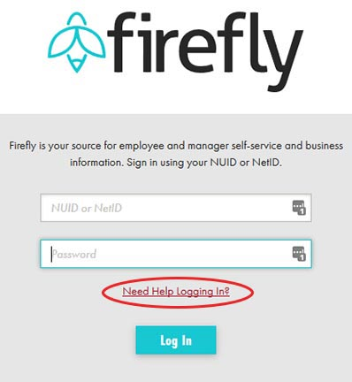 Firefly need help logging in