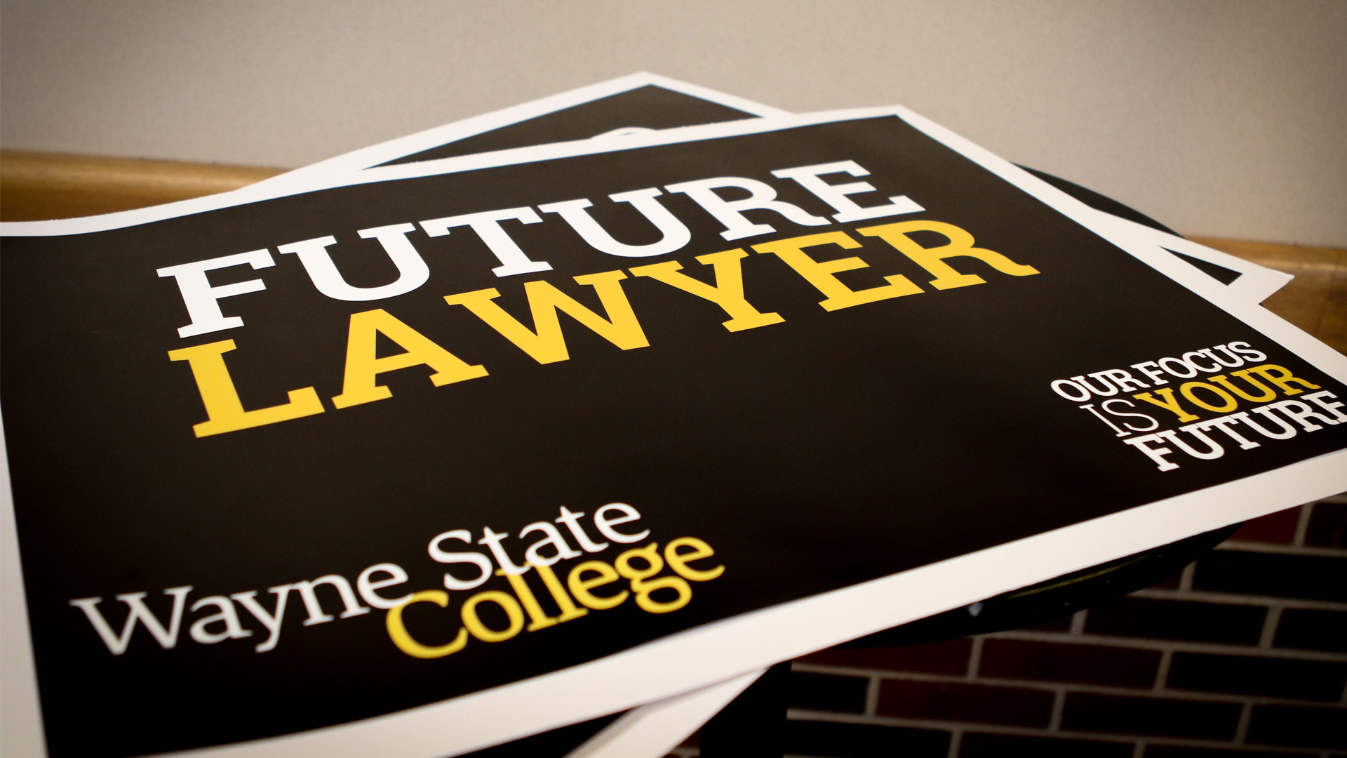 future lawyer RLOP day sign