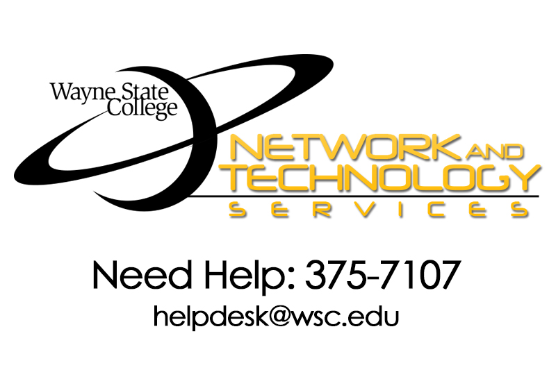 Network and Technology Services at WSC