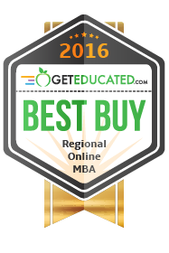 GetEducated's Best Buy badge