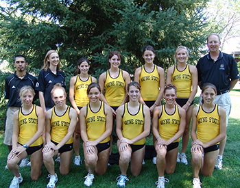 2006 Women's Cross Country Team