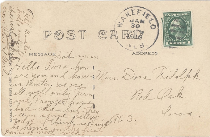 d61cbd15f771 Collection: City of Wayne Postcards   Wayne State College - A ...