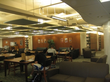Library - new lower level stacks and study