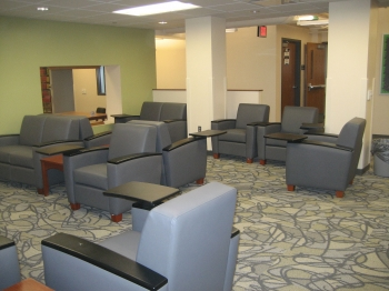 Library - new lower level study lounge