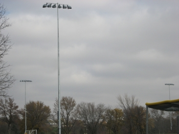 Intramural fields - lighting