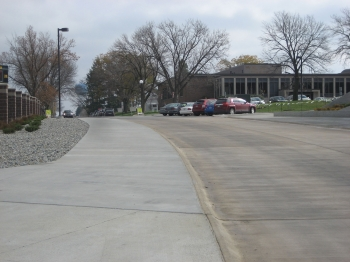 Lindahl Drive - south of football field