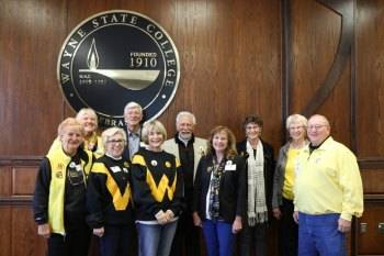 The Class of 1966 celebrated its 50th Reunion at homecoming this year.