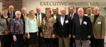 The Wayne State Foundation Executive Board met during Homecoming for its annual meeting.