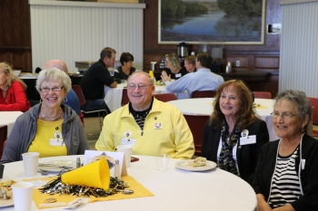 The classes of '66, '76, and '91 were honored at a brunch celebrating their 50th, 40th, and 25th reunions.
