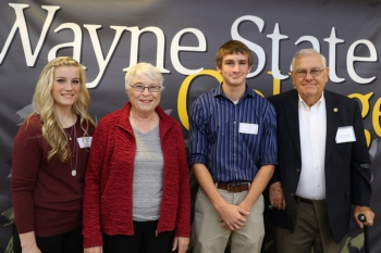 Becky '62 and Dick '62 Keidel - Zink-Keidel/Stuart Comm. Scholarship and Marburger-Lyman/Keya Paha Co. Comm. Scholarship