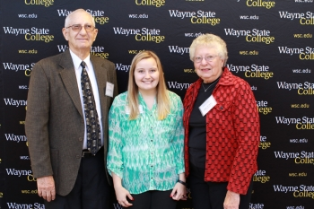 Darrel '62 and Betty '61 Heier - S. Edwin Jones-Kay Corp. Scholarship