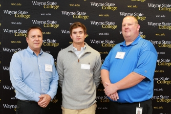 Jim Bauerly and T.J. Allen - Pepsi Cola of Siouxland Athletic Scholarship