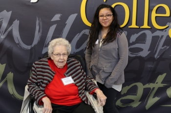Lucille Peterson - Walter and Lucille Peterson Endowed Scholarship