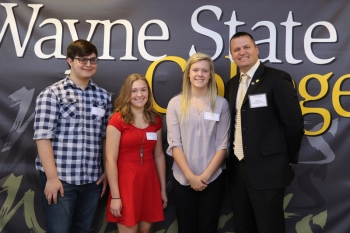 Matt Ley - State Nebraska Bank/Wayne Community Scholarship