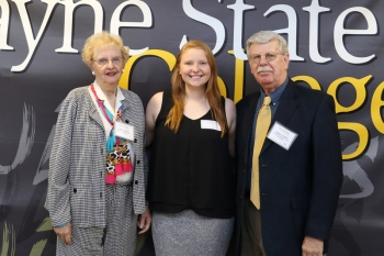 Roger and Carol Casteel - Rose & Nola Peterson Family Scholarship