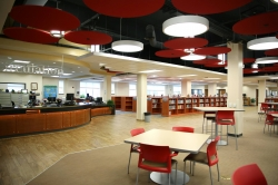 Library completed renovation 8