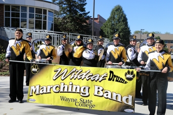The Wildcat Marching Band