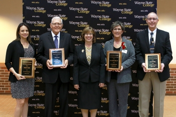 One alum from each school was honored with the Outstanding Alumni Award.