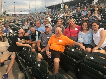Wayne State Night at the Omaha Storm Chasers Game on June 22, 2017