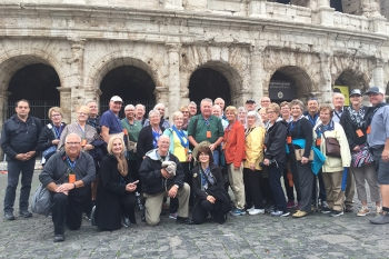 "The Wayne State College Alumni Italy Tour ""Toast to Tuscany"" Oct. 12-23, 2017."