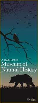 Graphic design students created promotional signs for the A. Jewell Schock Natural History Museum.